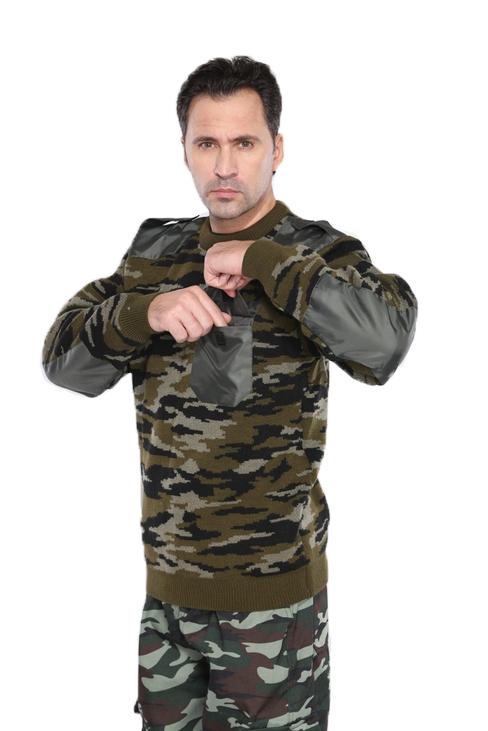 Джемпер кмф Лес с накладками (УРСУС)