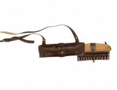 Патронташ 24 х12 двухрядный (кожа) Хольстер