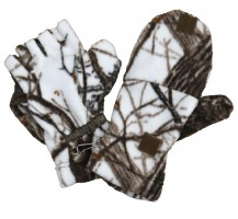 Перчатки Охотника (флис) Хольстер