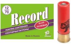 Патрон Record 12х70, 33гр. пуля Стрела