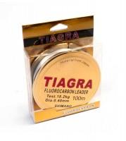 Леска Shimano Tiagra, 100м., 0,40, тест 21,15 кг. флюрокарбон 30%