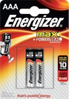 Батарейка алкалиновая Energizer MAX AAA (LR3)