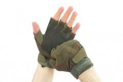 Перчатки BlackHawk, без пальцев, зеленые