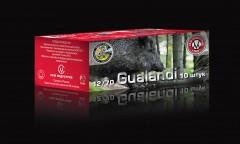 Патрон СКМ 12х70, пуля Гуаланди, 28гр., Импорт, П/К