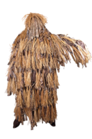 Пончо с лыком (трикотажная сетка+натур. лыко) Хольстер