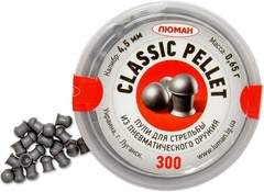 Пули Люман Classic Pellet, 4,5мм., 0.65гр. (300шт.)