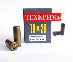 Патрон 10х28 Maximum, травмат., до 91Дж, твердая пуля 1г., d10мм. ТК