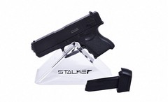 Пневмат. пистолет  Stalker SA17GM Spring, клб. 6мм. (аналог Glock 17) металл, 80м/с, 6шар.