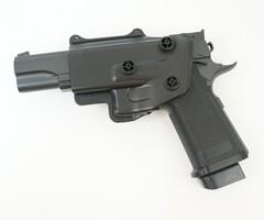 Пистолет софтэйр Galaxy G.6+ пружинный с кобурой, клб.: 6 мм. (Colt M1911 Hi-Capa 5.1)