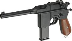 Пистолет софтэйр Galaxy G.12 пружинный, клб.: 6 мм. (мини Mauser 712)
