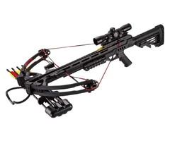 Арбалет блочный Man Kung MK-XB52 черный (4 стрелы, воск, прицел 4х32)
