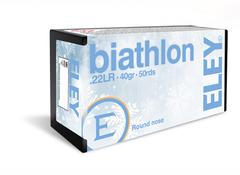 Патрон Eley Biathlon 5,6 (.22LR) 2.59гр. (50шт.) (Великобритания)