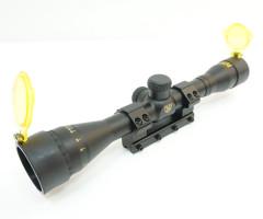 Прицел опт. Nikko Stirling серии Airking 2-7х32 AO halfmil-dot, моноблок на 11 мм.
