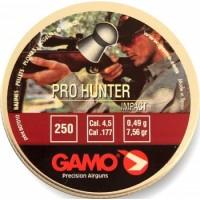 Пули Gamo Pro Hunter, 4,5мм., (250шт.) 0,49гр.