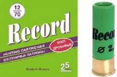Патрон Record 12х70, 32гр.