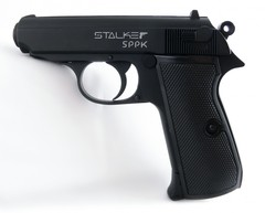 Пневматический пистолет Stalker SPPK, клб. 4,5мм. (аналог Walther PPK/S) металл, 120 м/с + 250 шар.